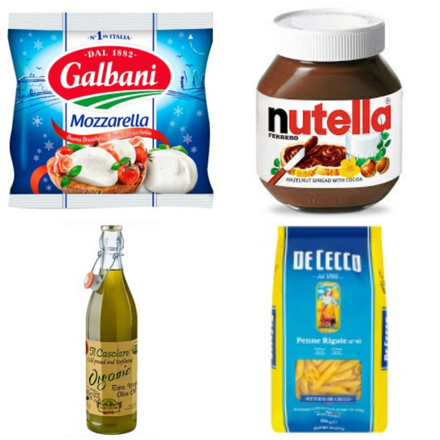 Italian brands in the UK supermarkets