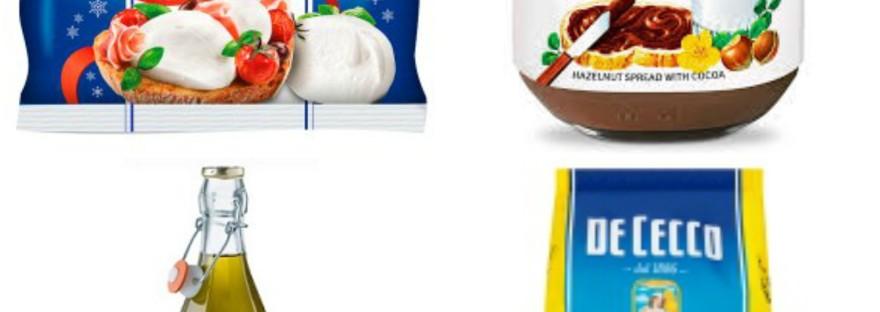 Italian brands in the UK supermarkets