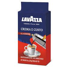 picture of Lavazza coffee Italian brand in the UK supermarkets