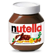 picture of nutella Italian brands in the UK supermarkets