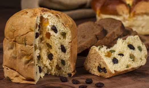 Panettone Italan foods for Xmas