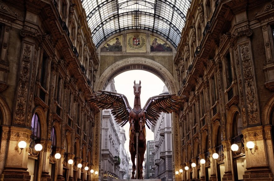 Picture of Gallery in Milan one of the best cities in italy