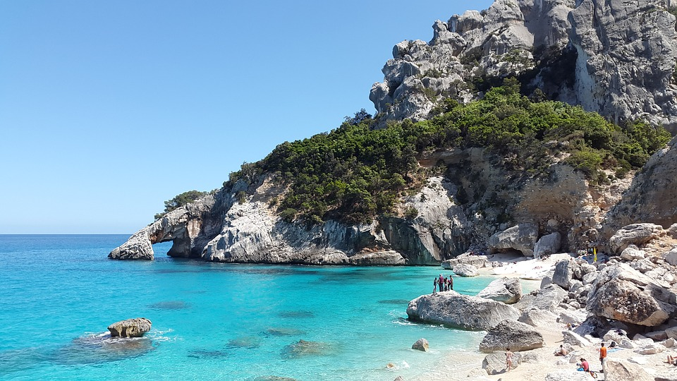 picture of cala goloritze (sardinia) one of the best beaches in italy
