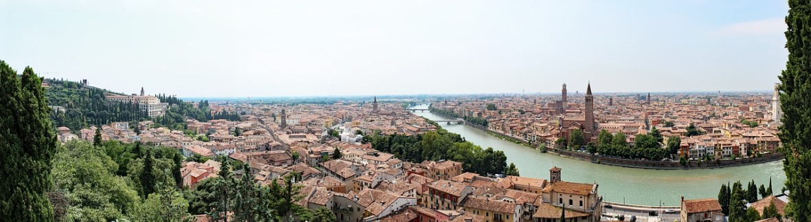 picture of the panorama of verona