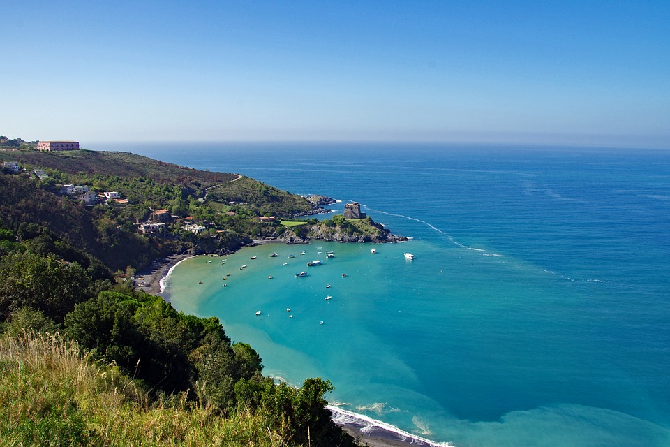 picture of San nicola arcella in calabria one of the best beaches in italy