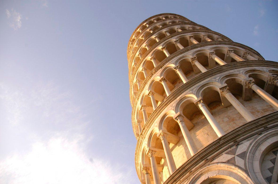 picture of Pisa for advanced Italian course