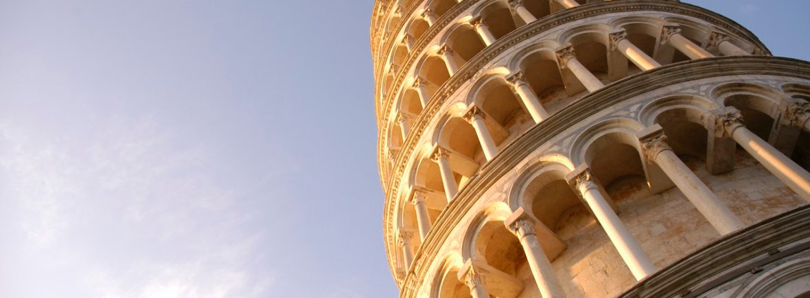 picture of Pisa for advanced Italian course