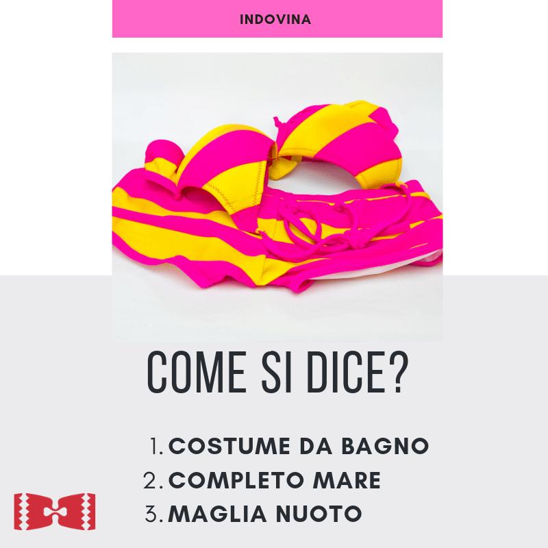 come si dice Bikini in italian