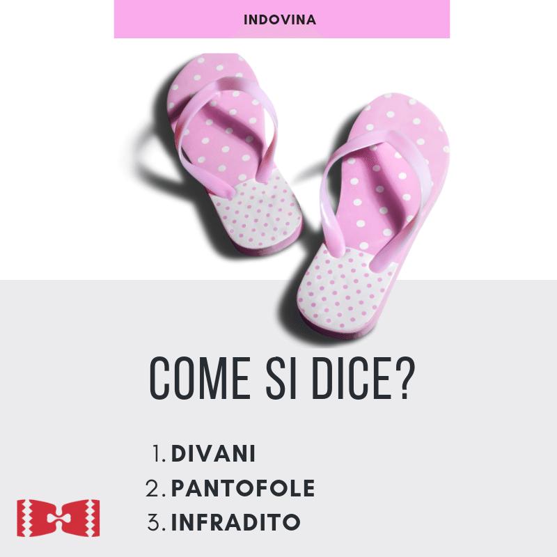 flip flops in italian