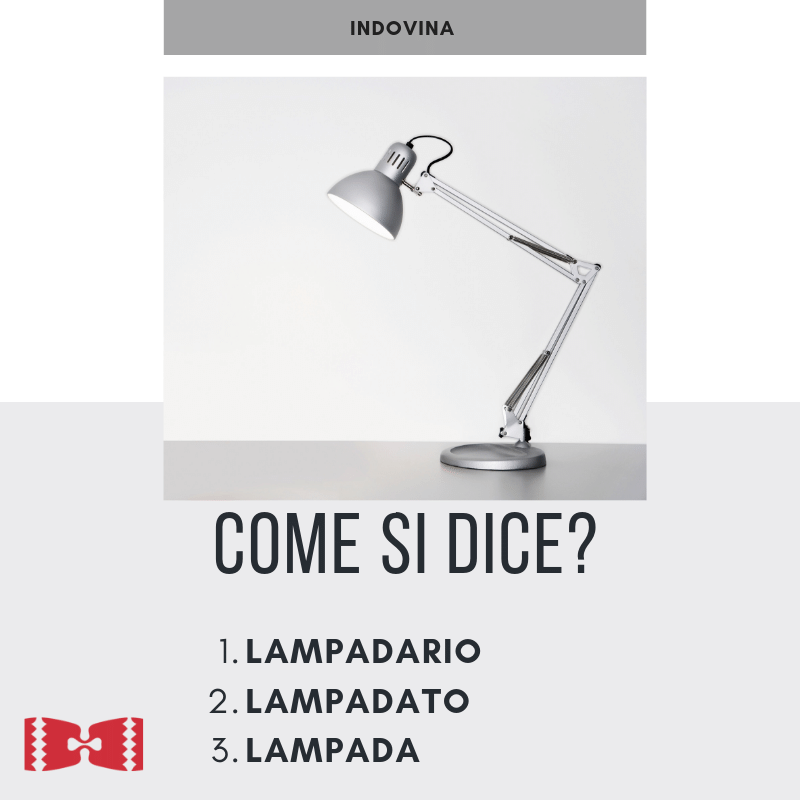 lamp in italian