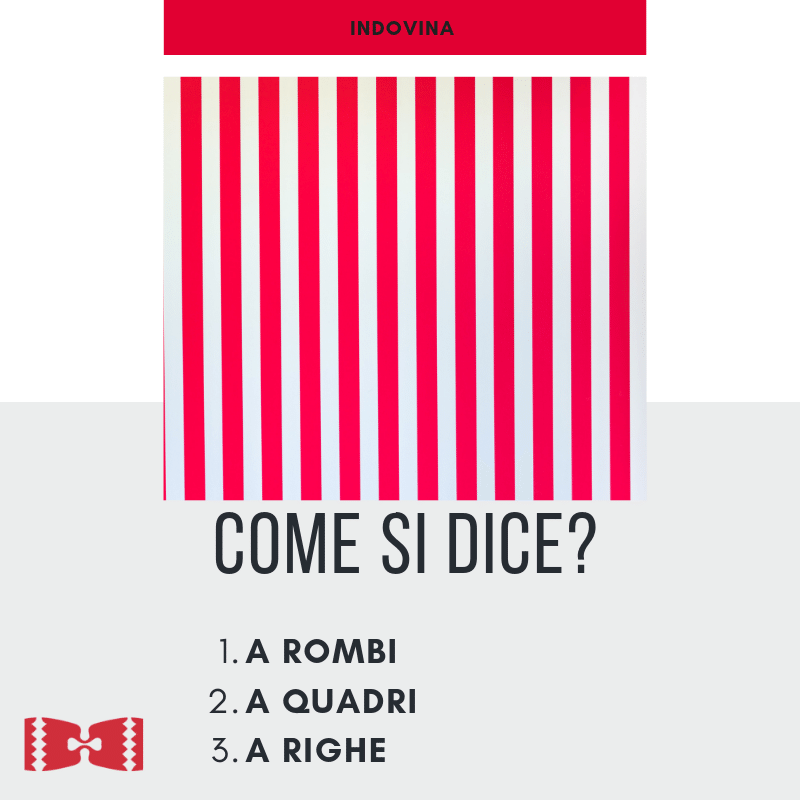 how to say stripes in italian